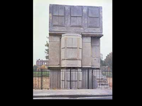 Rachel Whiteread, House, 1993.
