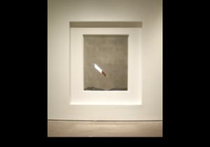 Michael Snow, Sight, 1968, aluminum, plastic.